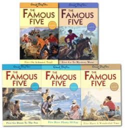 Enid Blyton Famous Five Collection 5 Books Set Photo