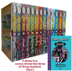 Lemony Snicket 14 Books Set A Series of Unfortunate Events Collection Book 2 New by Lemony Snicket