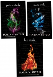 The Study Trilogy Collection Maria V. Snyder 3 Boo Photo