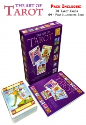 The Art of Tarot Deck Cards Collection Box Gift Set Photo