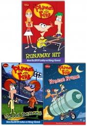 Disney Phineas & Ferb Collection 3 Books Set Dared Photo