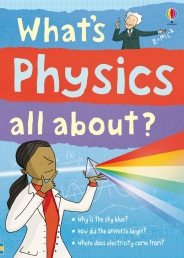 Usborne Science Book What's Physics all About Photo
