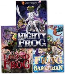 Guy Bass Legend of Frog 3 Books Collection Set Photo