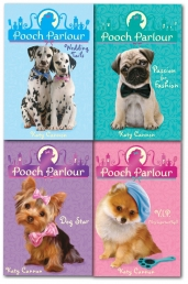Katy Cannon Pooch Parlour Series 4 Books Set Colle Photo