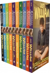 Just William Collection Series 10 Books Set By Richmal Crompton by Richmal Crompton