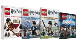 LEGO Harry Potter Bundle 4 Books Collection Gift S Photo