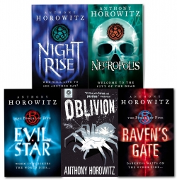 The Power of Five 5 Books Set Anthony Horowitz Collection Oblivion, Necropolis