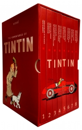 The Complete Adventures of Tintin Collection 8 Books Box Gift Set by Herge