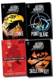 Alex Rider Collection 4 Graphics Books Set Anthony Photo