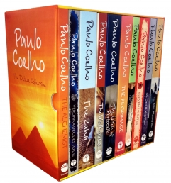 Paulo Coelho The Deluxe Collection 10 Books Box Set Photo
