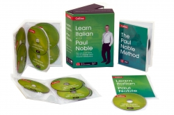 Learn Italian with Paul Noble Collins 12 CDs, Booklet, DVD Collection Box Set by Paul Noble