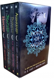 The House of Night Collection 4 Books Boxed Set (House of Night Novels) by P. C. Cast (Author), Kristin Cast (Author)