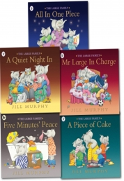 Large Family Collection Jill Murphy 5 Books Set by Jill Murphy
