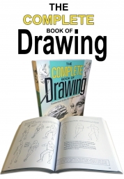 The Complete Book of Drawing by Barrington Barber Learn Basic Skills, Technique by Barrington Barber