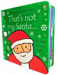 Thats Not My Santa (Touchy-Feely Board Books) Photo