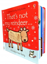 Thats Not My Reindeer (Touchy-Feely Board Books) by Fiona Watt