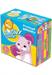 ZhuZhu Pets Little Pocket Library 6 Book Set Collection by Various