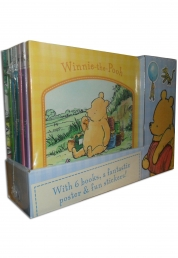 Winnie the Pooh 6 Books Collection Set Photo
