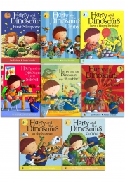 Harry And The Bucketful Of Dinosaurs Collection 8 Books Set by Ian Whybrow