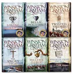 Winston Graham Poldark Series 6 Books Collection Set Poldark books 7-12 Photo
