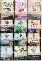Winston Graham Poldark Series 12 Books Collection Set (1-12) Photo