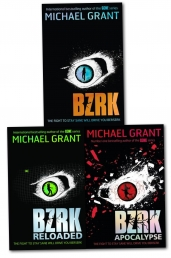 Michael Grant BZRK 3 Books Photo