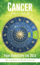 Your Horoscope 2016 Book, 15 Month Forecast, Zodiac Sign, Future Reading, Tarot Cancer by Igloo Books