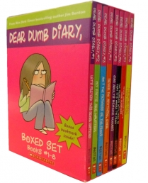 Dear Dumb Diary Jim Benton 8 Books Collection Box Set by Jim Benton