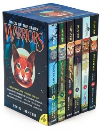 Warriors Cats Series 4: Omen of the Stars 6 Books Set Photo