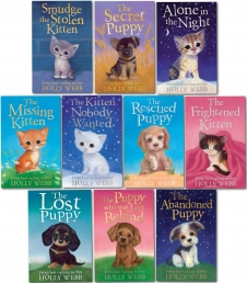 Holly Webb Series 2 - Puppy & Kitten 10 Books Set Photo