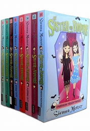 My Sister the Vampire Series 2 Collection 8 Books Set Vol 9-16 by Sienna Mercer