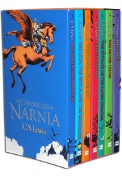 The Chronicles of Narnia 7 Books Box Set Collection by C S Lewis