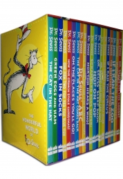 The Wonderful World of Dr. Seuss Series 20 Books Gift Box Set Collection