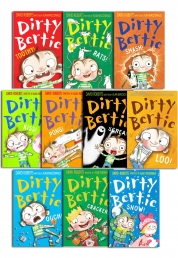 Dirty Bertie - Series 2 - David Roberts 10 Books Photo