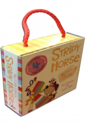 My Little Library Stripy Horse by Jim Helmore and Karen Wall by Jim Helmore