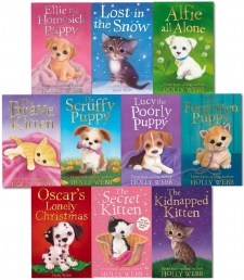 Holly Webb -Series 3- Animal Stories 10 Books Collection Set Books 21 to 30 by Holly Webb