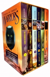 Power of Three Erin Hunter Collection 6 Books Box Set Warrior Cats by Erin Hunter