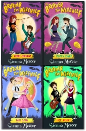 My Brother the Werewolf Collection 4 Books Set Sienna Mercer by Sienna Mercer