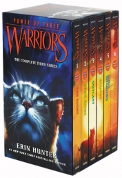 Warriors Cats Series 3: Power of Three - 6 Books Set  By Erin Hunter (The Sight, Dark River, Outcast, Eclipse, Long Shadows, Sunrise) by Erin Hunter