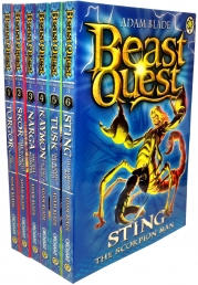 Beast Quest Series 3 The Dark Realm 6 Books Set Photo