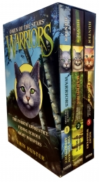 Erin Hunter Omen of the Stars Collection 3 Books Photo