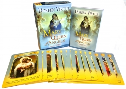 Mother Mary, Queen of Angels Tarot Cards Oracle De Photo