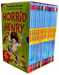 Horrid Henry Books Francesca Simon 16 Books Collection Photo