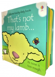 Thats Not My Lamb (Touchy-Feely Board Books) by Fiona Watt, Rachel Wells