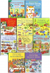 Richard Scarry's Best Collection Ever 10 Books Set Photo