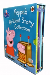 Peppa Pig Books Brilliant Story Collection 5 Books Box Set by Ladybird