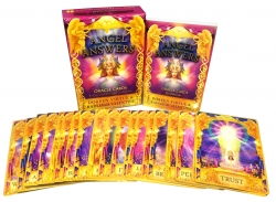 Angel Answers Oracle Tarot Cards Deck Doreen Virtue Photo