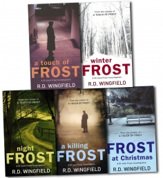 A DI Jack Frost Investigation Collection R. D. Wingfield 5 Books Set by R D Wingfield