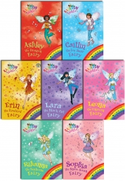 Rainbow Magic Series 11 Magical Animal Fairies Pack 7 Books Set Pack (Books 71 to 77) by Daisy Meadows
