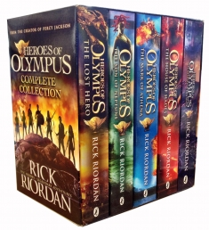 Heroes of Olympus Collection 5 Books Box Set Photo